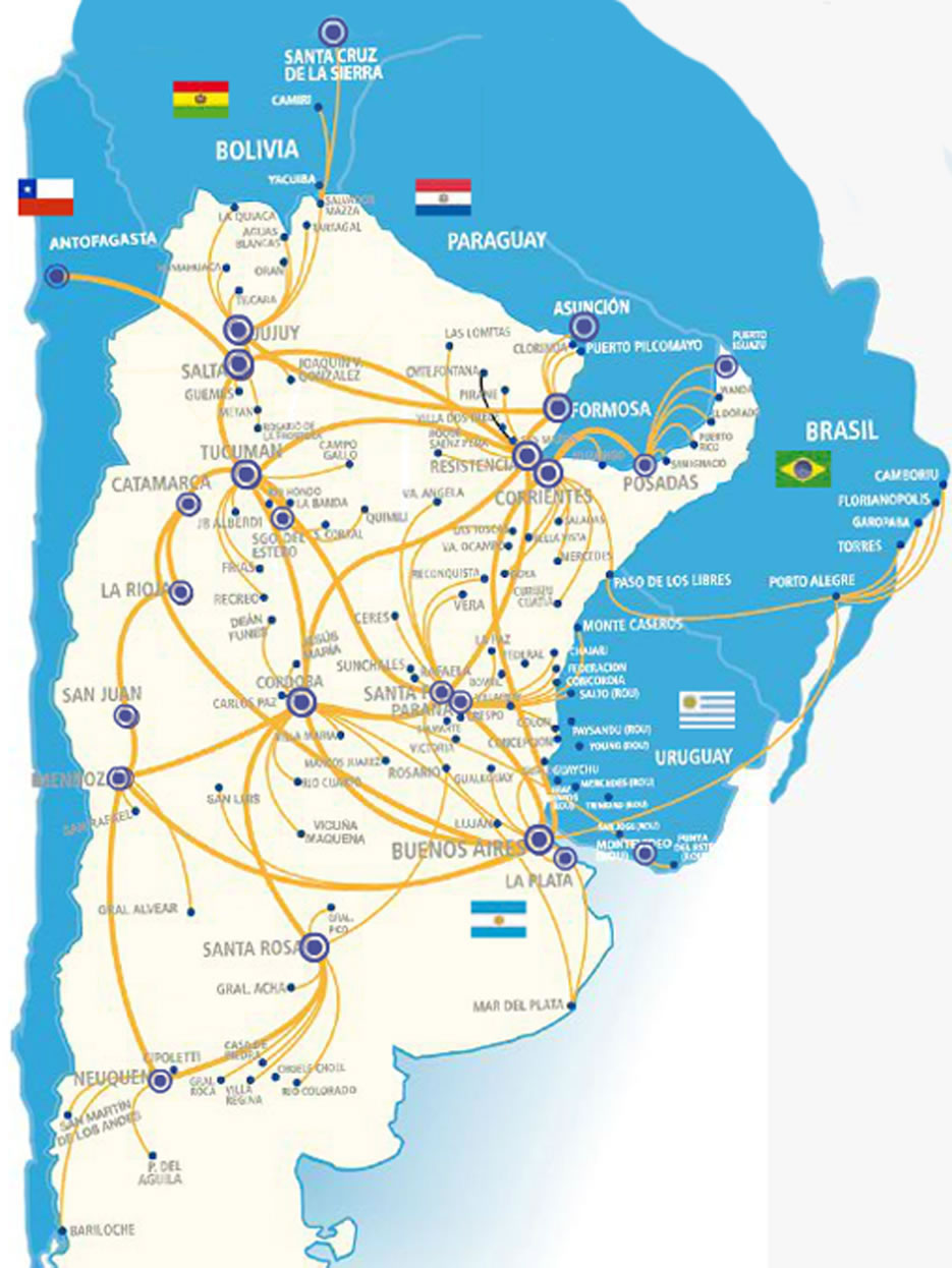 Mapa de rutas argentinas online dating
